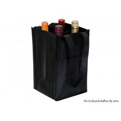 Bolsa 4 botellas