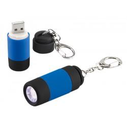 Llavero linterna Led cargador USB